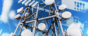 5G Wireless Fibre Optics Collage