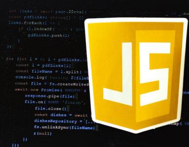 javascript website programming and javascript logo